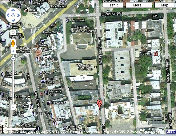 Satellite Adams Morgan -- proposed hotel location